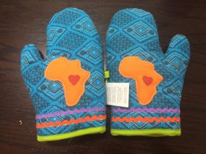 14 Pr of Ethnic Oven Gloves